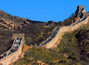 Most popular Great Wall at Badaling section