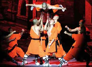 Kung Fu Show at Red Theater