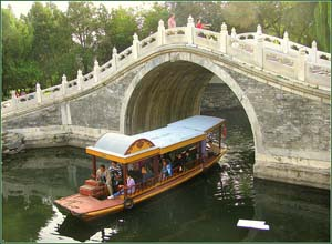 Curved Bridge at Summer Palace