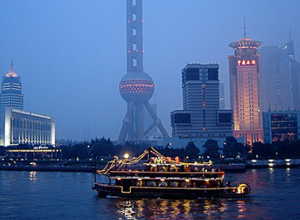 Evening Cruise in Huangpu River