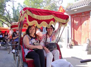 Rickshaw Trip Around Hutong Area