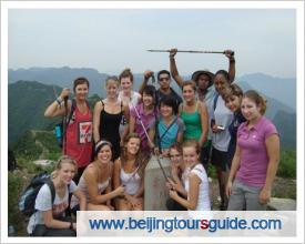 Clients at Badaling Great Wall